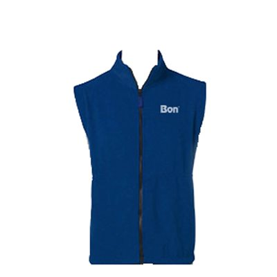 BON FLEECE VEST - NAVY- LARGE