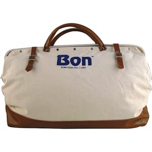 HEAVY DUTY CANVAS BAGS WITH LEATHER BOTTOM