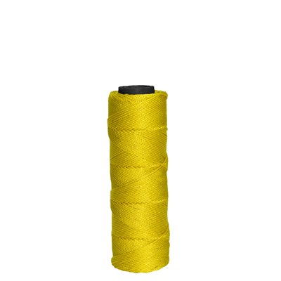 MASON'S TWISTED NYLON LINE - 350' YELLOW