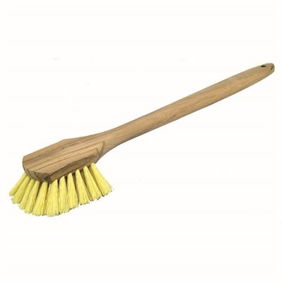 "ACID BRUSH - POLY BRISTLES 20"" WOOD HANDLE"