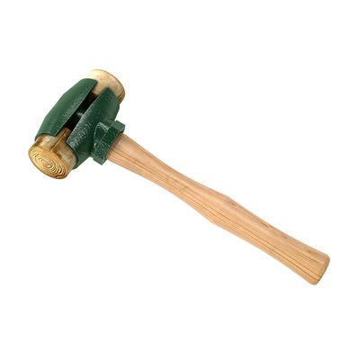 RAWHIDE FACE HAMMER - 2 3/4 LB WITH WOOD HANDLE