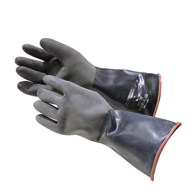 HEAVY DUTY PROTECTIVE RUBBER GLOVES