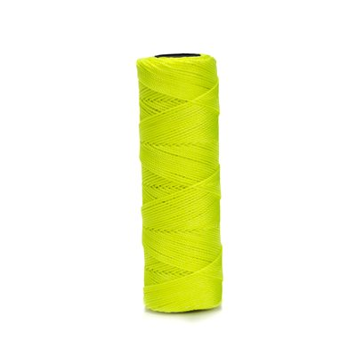 EZC TWISTED NEON NYLON LINE - 350' NEON YELLOW