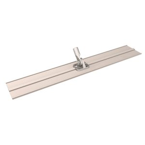 "ALUMINUM BULL FLOAT KIT - 48"" x 8"" SQUARE END WITH THREADED BRACKET"