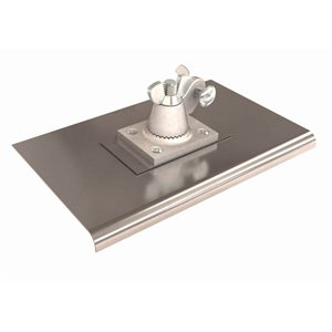 "STAINLESS STEEL ALL ANGLE WALKING EDGERS - 10"" x 6"""