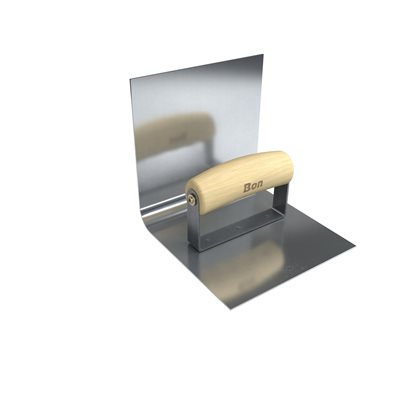 STAINLESS STEEL BASE TOOL X RADIUS LIP WOOD WAVE - Stainless steel table with lip