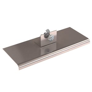 "STAINLESS STEEL SINGLE ACTION WALKING EDGERS - 10"" x 4"""