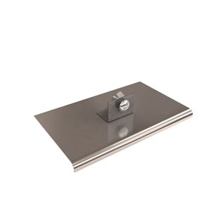 "STAINLESS STEEL SINGLE ACTION WALKING EDGERS - 10"" x 6"""