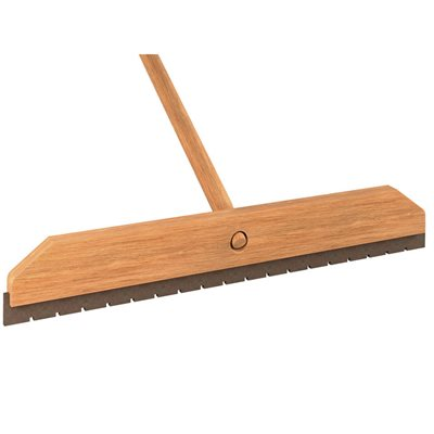 "WOOD BLOCK SQUEEGEE - 24"" NOTCHED"