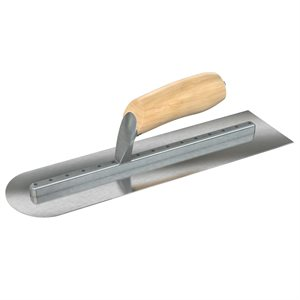 FLAT END/ROUND END FINISHING TROWELS