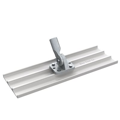 "BULL FLOAT - MAG 24"" x 8"" SQ END - THREADED BRACKET"