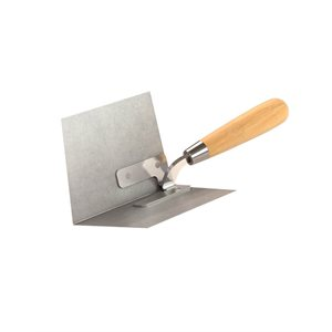 TAPERED ANGLE PLOW - SS 90° - WOOD HANDLE