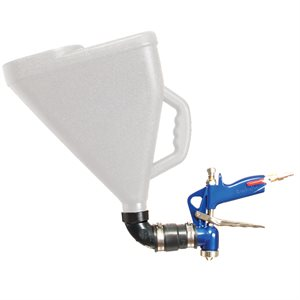 SPRAY GUN FOR FLAT WORK