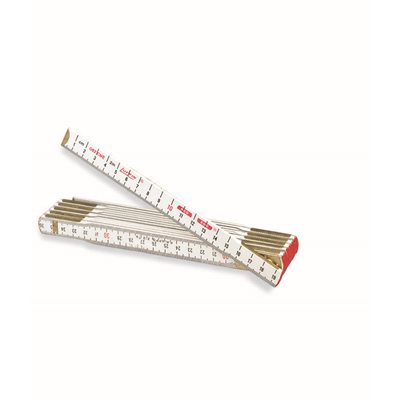 WOOD METRIC/INCH RULE - 2 METERS