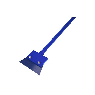 "FLOOR SCRAPER - 7"" STEEL BLADE  WITH 54"" STEEL HANDLE"