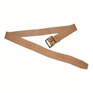 WORK BELT - LEATHER 1 3/4""