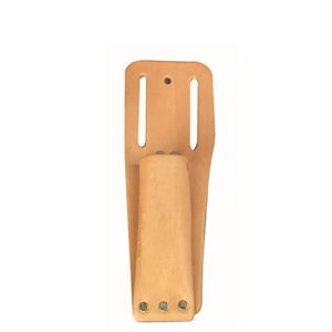 CLOSED END HOLDER - LEATHER