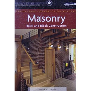 MASONRY BRICK & BLOCK - TEXTBOOK BY ROBERT HAM