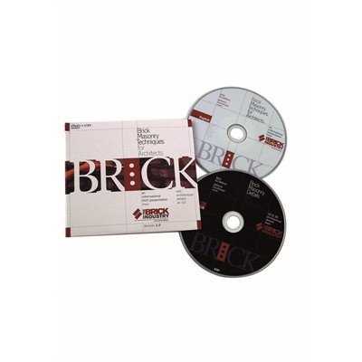 Dvd Brick Masonry Techniques For Architects