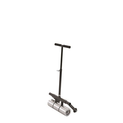 LINOLEUM ROLLER WITH T HANDLE - 75 LB WITH TRANSPORTER