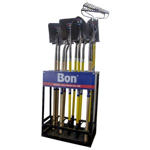 LONG HANDLE TOOL DISPLAY RACK