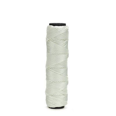 MASON'S TWISTED NYLON LINE - 185' WHITE