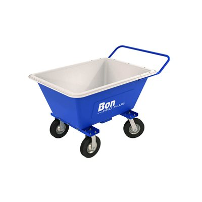 "POLY MORTAR BUGGY - 8.5 CU FT WITH 10"" PNEUMATIC TIRES"