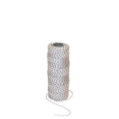 BLUE BAYOU™ BONDED BRAIDED LINE -685' - WHITE/BLACK FLECKS