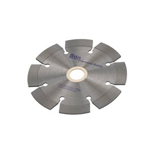 LASER WELDED DIAMOND BLADE FOR HAND HELD SAWS