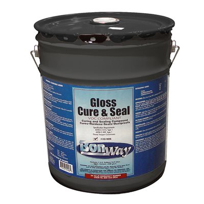 GLOSS CURE AND SEAL - LOW VOC - 5 GALLON