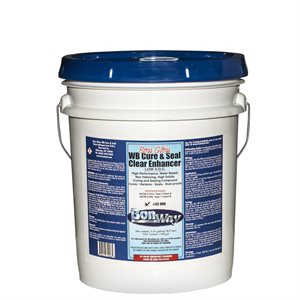 BOSS GLOSS™ WATER BASE CURE AND SEAL - LOW VOC - 5 GALLON