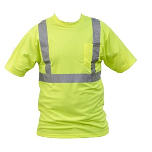 HI-VIS SHORT SLEEVE T SHIRTS