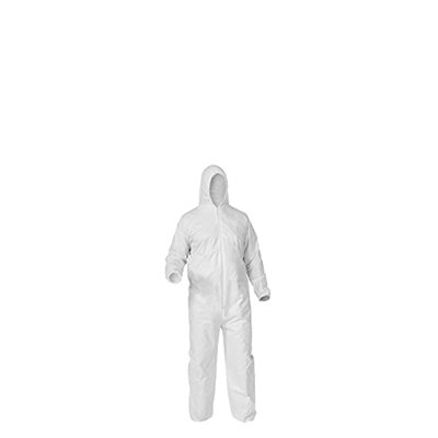 DISPOSABLE COVERALLS - LARGE