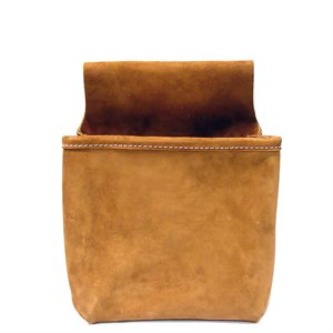 NAIL BAG - SINGLE POCKET SPLIT LEATHER