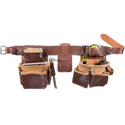 SEVEN BAG FRAMER LEATHER TOOL BELT - XXXL - RIGHT HAND