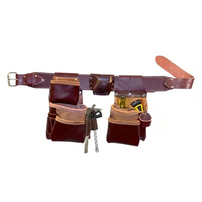 PRO TRIMMER TOOL BELT WITH TAPE HOLSTER - SMALL