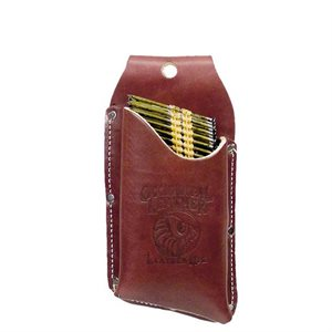 LEATHER NAIL STRIP HOLSTER