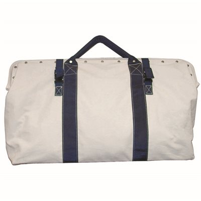 "TOOL BAG - 24"" CANVAS WITH NYLON STRAPS"