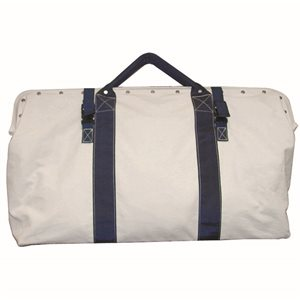 HEAVY DUTY CANVAS BAGS WITH NYLON STRAPS
