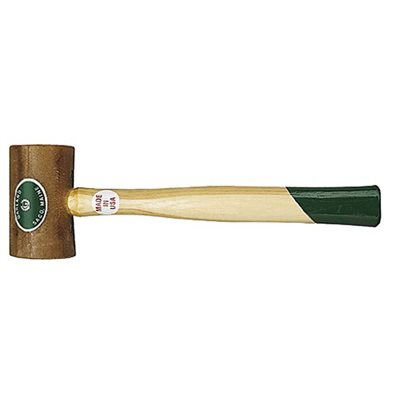 RAWHIDE WEIGHTED MALLET - 20 OZ