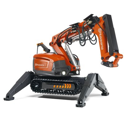 DEMOLITION ROBOT - DXR 310 - 30 HP WITH HEAT PROTECTION PACKAGE