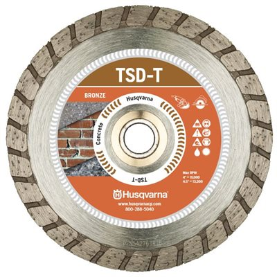 "TACTI-CUT T DRI DISC - 9"" X .100"" X 7/8"""