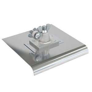 "STAINLESS STEEL ALL ANGLE WALKING EDGER - 8"" x 8"" - 3/4"" RADIUS 7/8"" DEPTH"