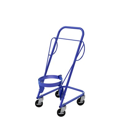 TRANSPORTING & POURING BUCKET CART