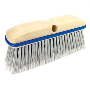 TILE BROOM - SILVER FLAGGED POLY - 10""