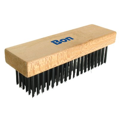 "WIRE BRUSH - STRAIGHT BACK - 7 1/8"" x 2 1/4"""