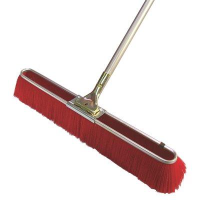 Floor Broom Fine Red Bristles 24 Quot With 5 Metal Handle