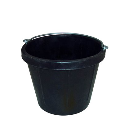HEAVY DUTY RUBBER PAIL - 8 QT