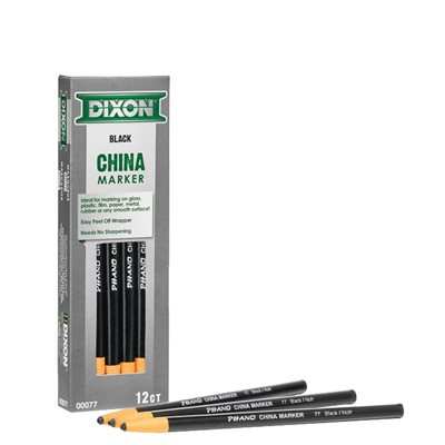 CHINA MARKERS - BLACK