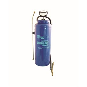 INDUSTRIAL MULTI-PURPOSE SPRAYER - STEEL OPEN HEAD TANK - 3 1/2 GALLON